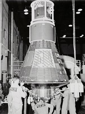 The Gemini Project took its name from the two man crew