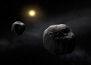 Double asteroid Antiope